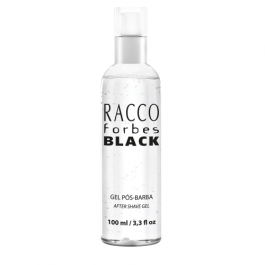 "Gel Pós-Barba ""FORBES BLACK"" - 100 ml - Racco 0166"